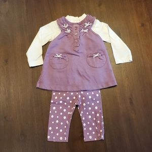 First Impressions 3 piece outfit size newborn